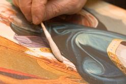Restaurator für Gemälde und Rahmen