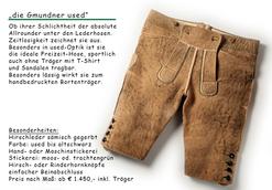 Die Gmundner Kurze als used...