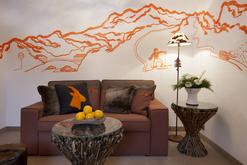 Arlberg Hospiz Hotel Doppelzimmer Komfort - Wohnbereich