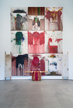 """Unter den Bergen"" Hermann Nitsch Vernissage"