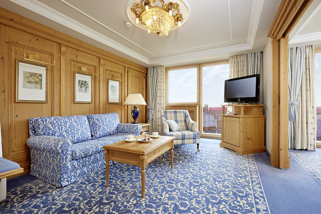 Junior Suite in der Krone von Lech