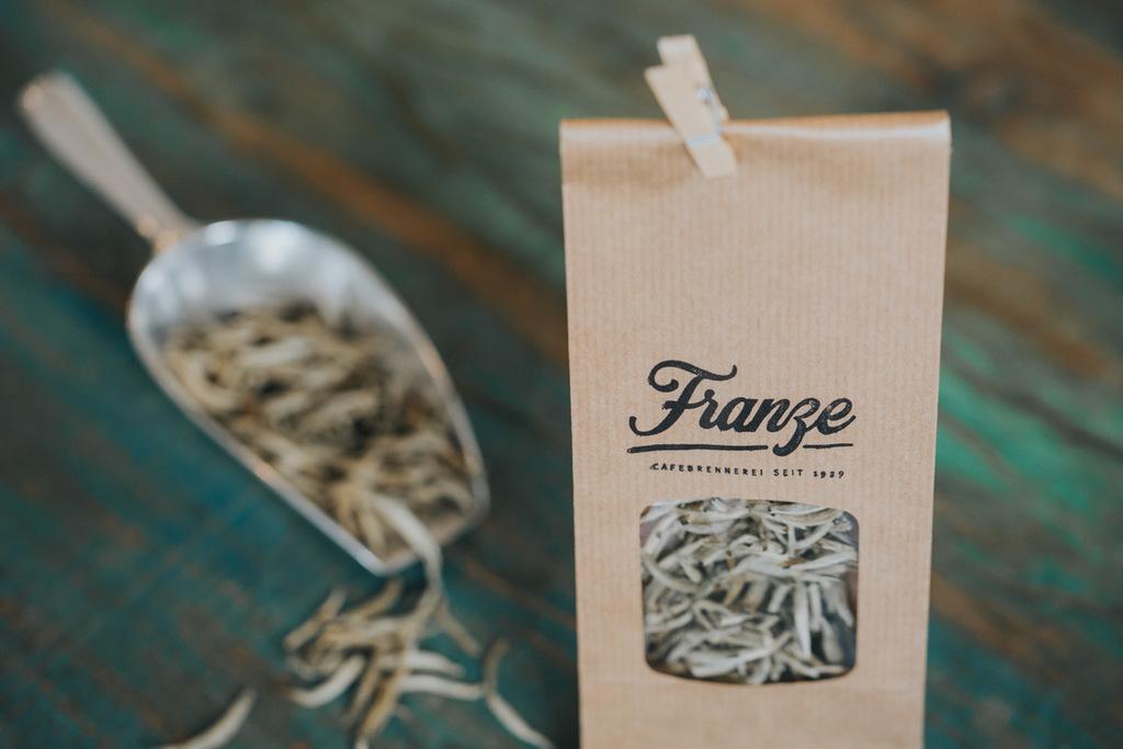 Tee aus der Cafebrennerei Franze