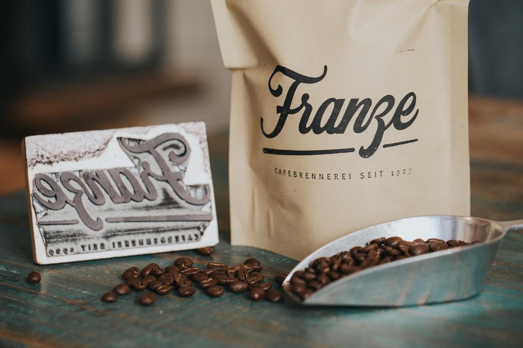 Kaffee aus der Cafebrennerei Franze