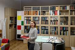 die Bibliothek unseres Wiener Goldschmiedelehrganges